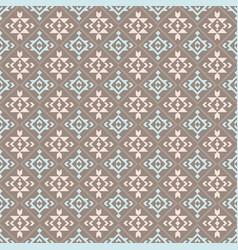 Native american indian aztec geometric seamless vector