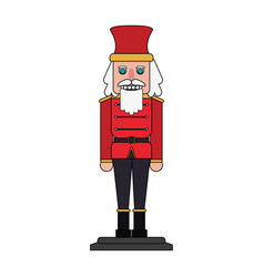 Nutcracker icon image vector