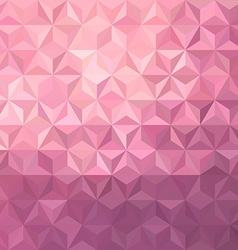 Pink low poly background vector