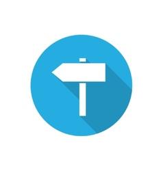 Signposts vector