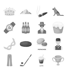 service sport fitness and other web icon in vector image vector image