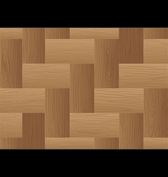 A topview of a brown wooden tile vector
