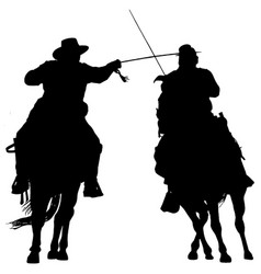 American civil war soldiers on horses vector
