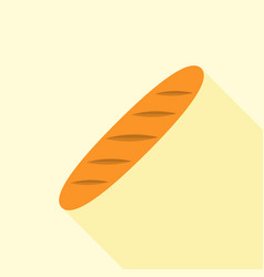 baguette icon vector image
