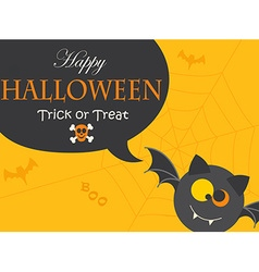 Banner for Halloween Party Night vector image