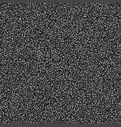 Black grainy background as asphalt vector
