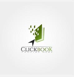 Book library icon template creative logo design vector