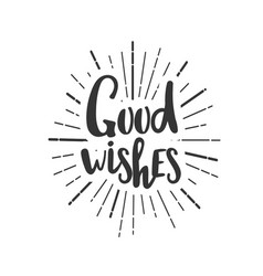 christmas wishes lettering in doodle style jolly vector image