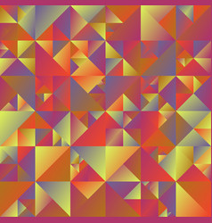 colorful abstract polygonal gradient triangle vector image