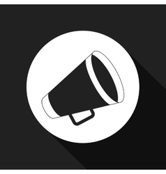 Director megaphone design vector