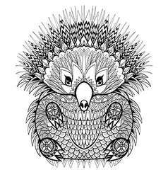Hand drawn Echidna Australian animal for vector