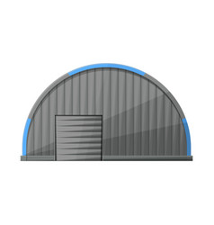 Hangar and warehouse logo vector