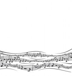musical sheet vector image