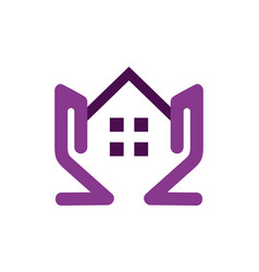 residence home estate icon logo vector image