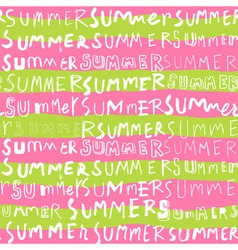 Two tone summer doodle seamless pattern vector