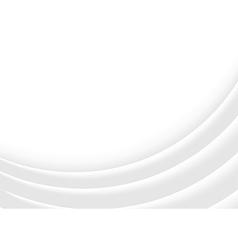 White 3D Contour Lines vector