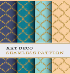 art deco seamless pattern 31 vector image