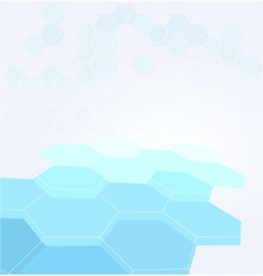 Geometric modern background design vector image