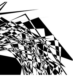Rough edgy geometric texture abstract black and vector