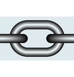Chain link vector image