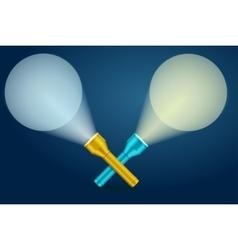 Lignt Torch Banner vector image