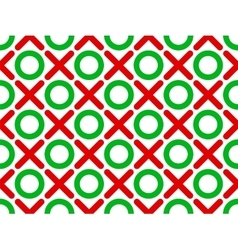 tic tac toe seamless wallpaper vector image vector image