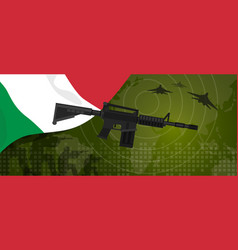 italy military power army defense industry war and vector image