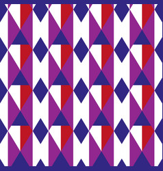 rhombus geometric seamless pattern cage endless vector image vector image
