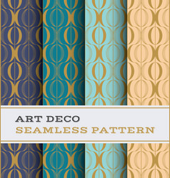 art deco seamless pattern 33 vector image