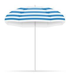 beach umbrella stock vector image
