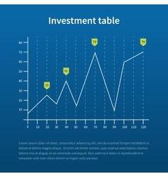 Business statistics charts vector image