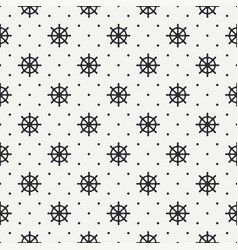 Geometric nautical seamless background pattern vector
