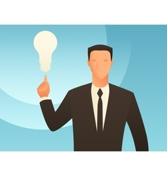 Idea business conceptual with vector