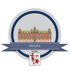 Malmo vector image
