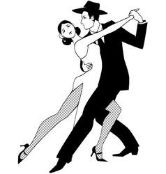 Tango clip art vector image