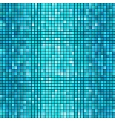 blue mosaic background vector image