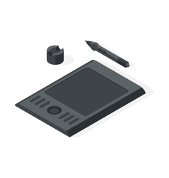 Graphics tablet vector image vector image