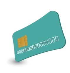 Cash card cartoon vector image vector image
