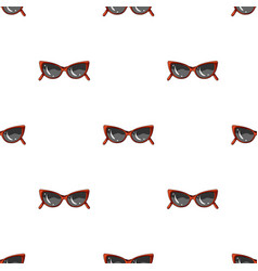 sunglasses for protection from the sunsummer rest vector image