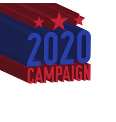 2020 campaign united states presidential election vector