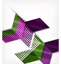 Abstract business geometric pattern vector image