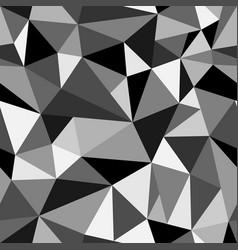 Abstract geometric rumpled triangular vector