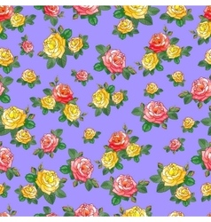 Beautiful Pattern with Roses vector image