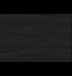 Black wooden background wide horizontal planks vector