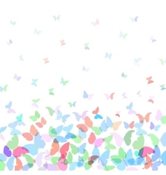 card design Colorful spring background with vector image