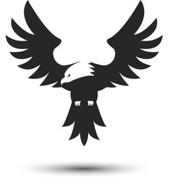 Eagle logo template vector