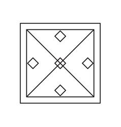 esoteric symbol icon vector image