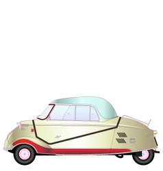 KR200 Vintage car vector image