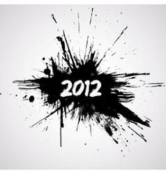 new year grunge design vector image
