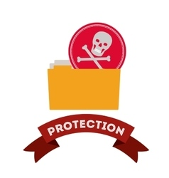 Virus protection design vector